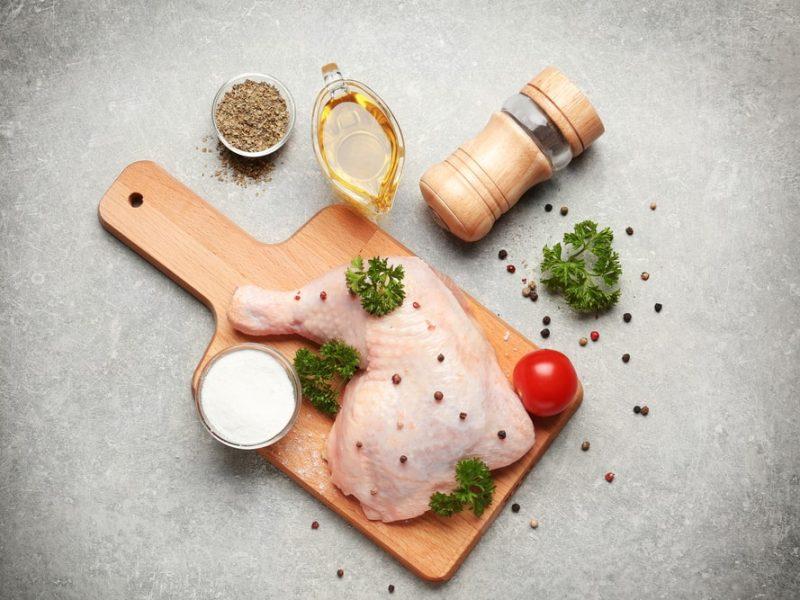 Marinate Frozen Chicken