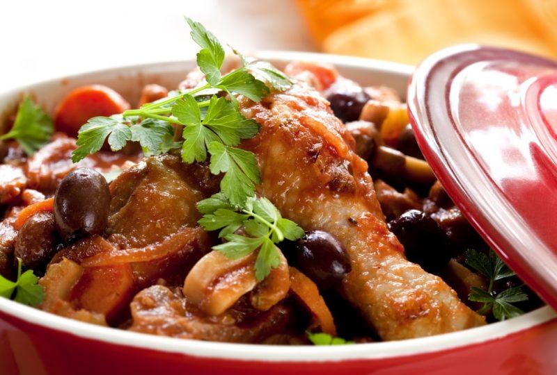 Chicken in Crock Pot