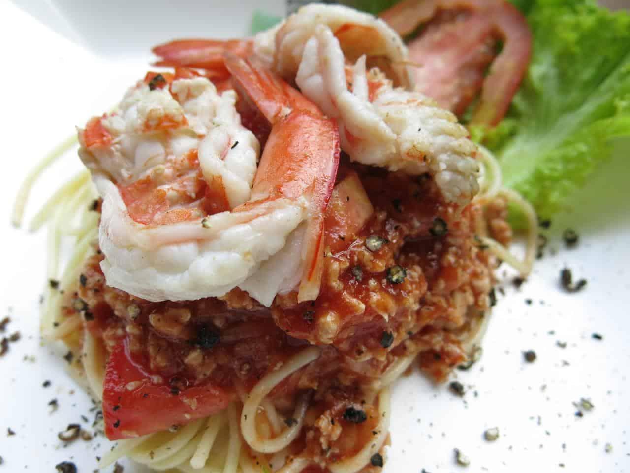 Seafood Spaghett