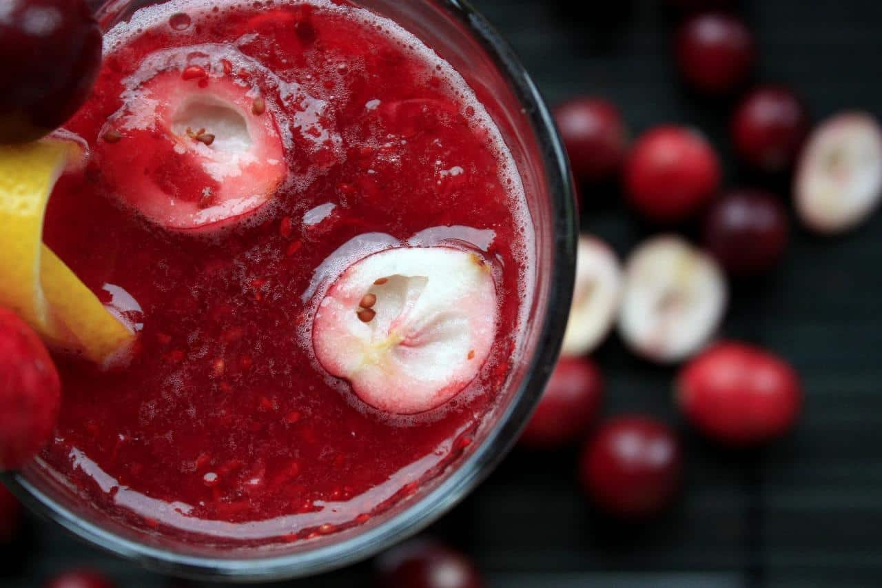 Cranberry juice concentrate
