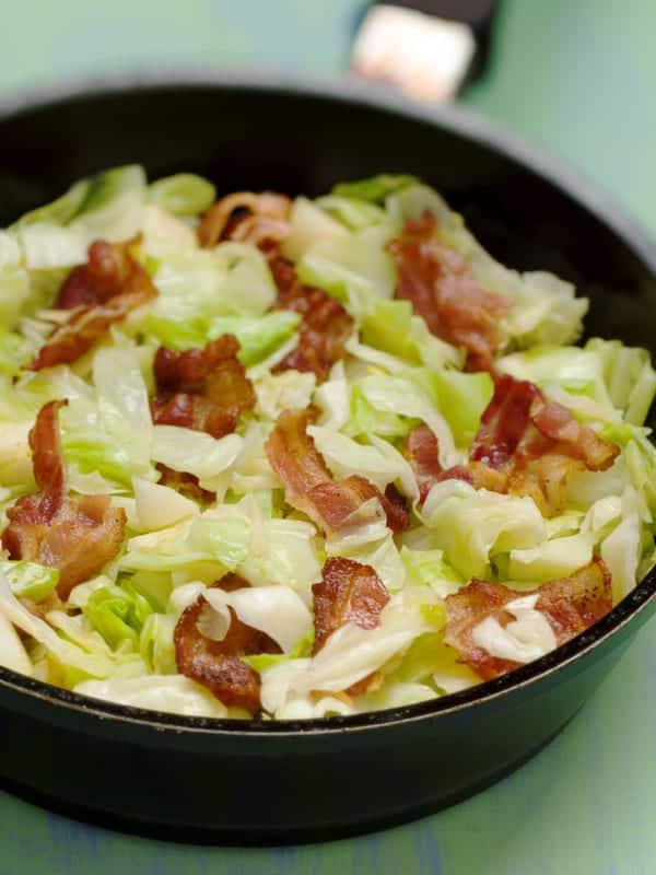 Cabbage and bacon